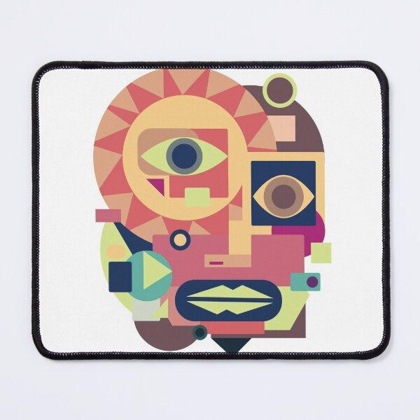 Face Cubism 1 Mouse Pad