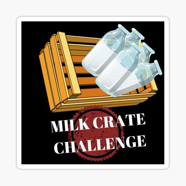 The Milk Crate Challenge Sticker