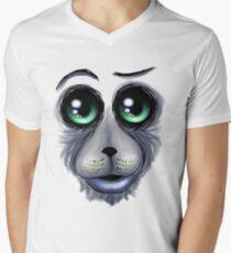 Mad dog Men's V-Neck T-Shirt