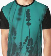 Lavender Silhouette Graphic T-Shirt