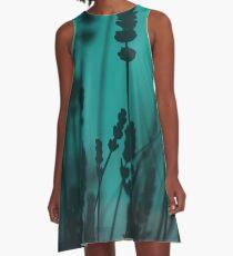 Lavender Silhouette A-Line Dress