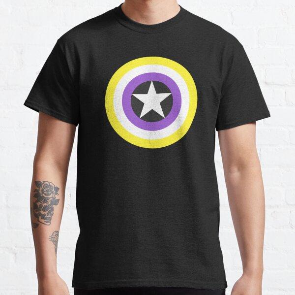 Pride Shields - Nonbinary, version 1 Classic T-Shirt