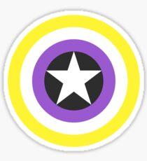 Pride Shields - Nonbinary v1.2 Sticker