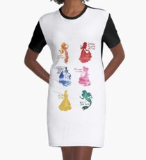 Princesses - Castle Graphic T-Shirt Dress