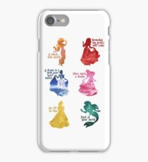 Princesses - Castle iPhone Case/Skin