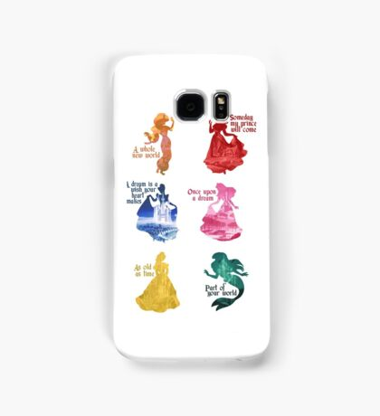 Princesses - Castle Samsung Galaxy Case/Skin