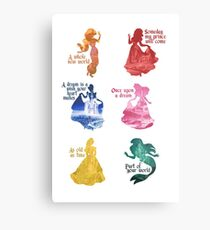 Princesses - Castle Metal Print