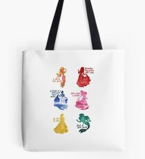 Princesses - Castle Tote Bag