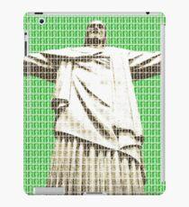 Christ The Redeemer - Green iPad Case/Skin