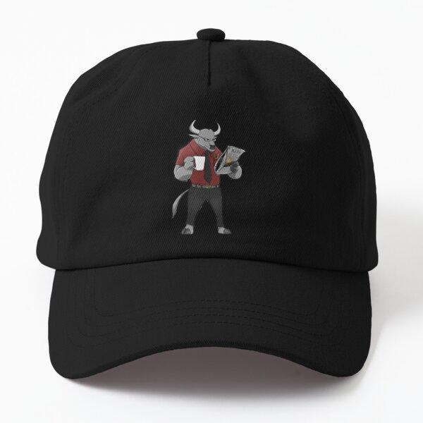 Mr Root - the minotaur mascot Dad Hat