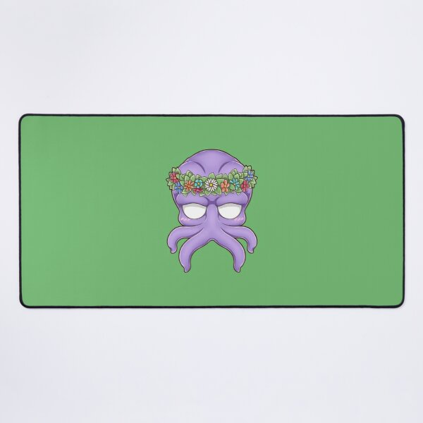 Snaps from Mind Flayer - Flower Crown Desk Mat