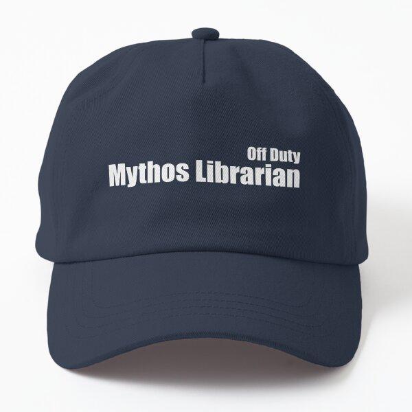 Off Duty Mythos Librarian Dad Hat