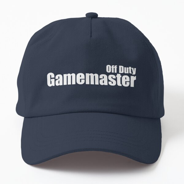 Off Duty Gamemaster Dad Hat