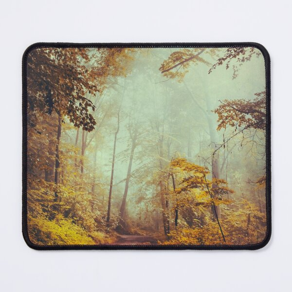 silent forest Mouse Pad