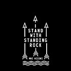 Shailene Woodley - Official Standing Rock Shirt by Denisgonchar