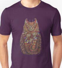 Camiseta unisex Tótem del gato de Maine Coon
