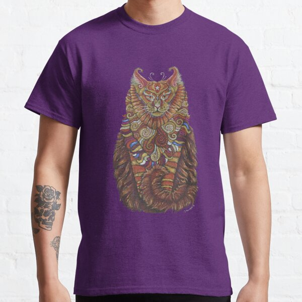 Maine Coon Cat Totem Classic T-Shirt