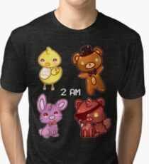 Five Nights At Freddy's Tri-blend T-Shirt