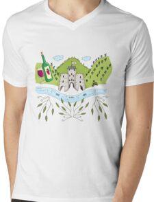 Ahrtal Ahrweiler Fan-Illustration Mens V-Neck T-Shirt
