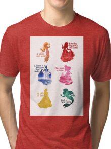 Princesses - Castle Tri-blend T-Shirt