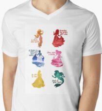 Princesses - Castle Men's V-Neck T-Shirt