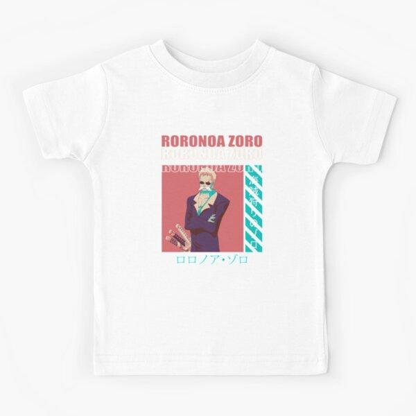 Roronoa Zoro Straw Hat Pirates Kids T-Shirt