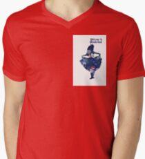 Wonderland Mens V-Neck T-Shirt