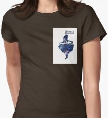 Wonderland Women's Fitted T-Shirt