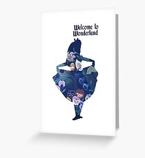 Wonderland Greeting Card