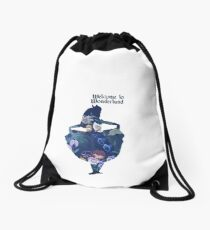 Wonderland Drawstring Bag