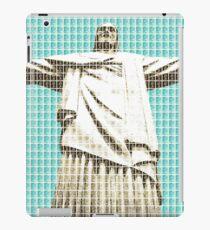 Christ The Redeemer - Light Blue iPad Case/Skin