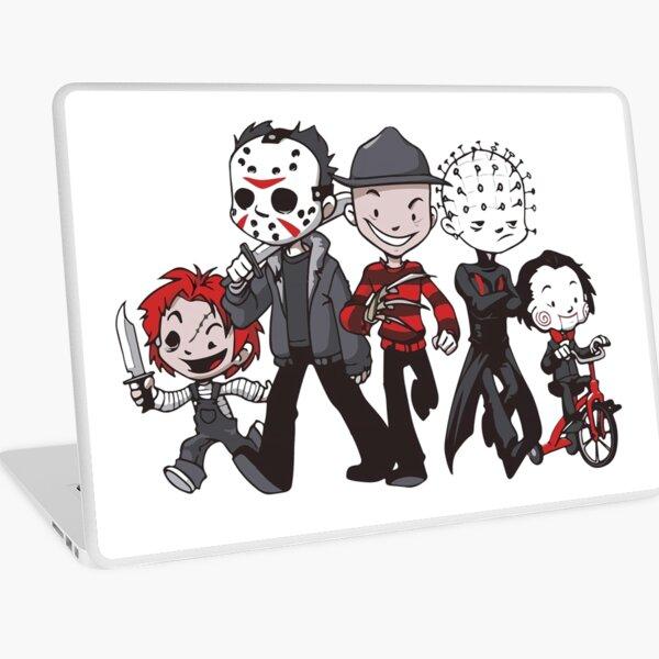 Friends Horror Squad Laptop Skin