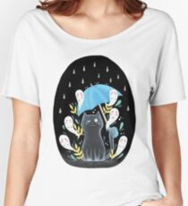 ghost kitty + friends Women's Relaxed Fit T-Shirt