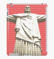 Christ the Redeemer - Red iPad Case/Skin