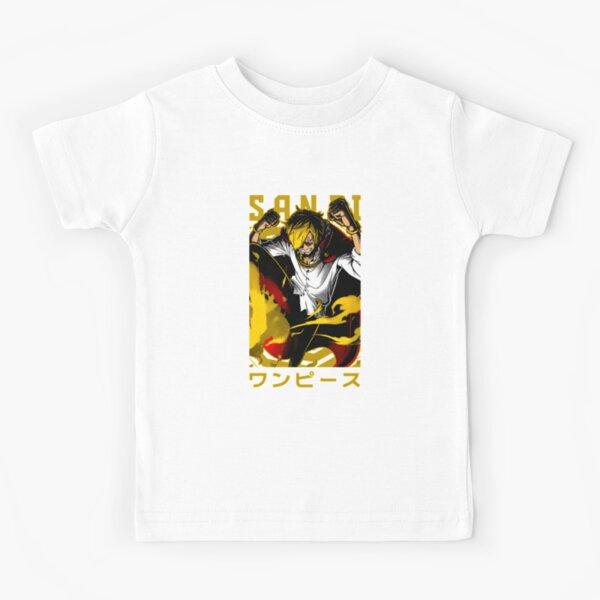 Prince Sanji Straw Hat Pirates Kids T-Shirt