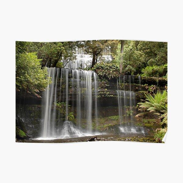 Water Falls,Tasmania Poster
