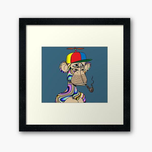 Bored Ape Yacht Club #9728 Framed Art Print