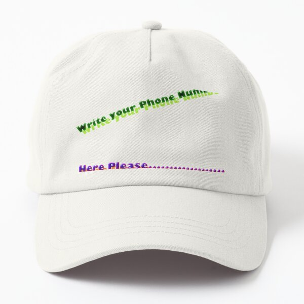 Number Dad Hat