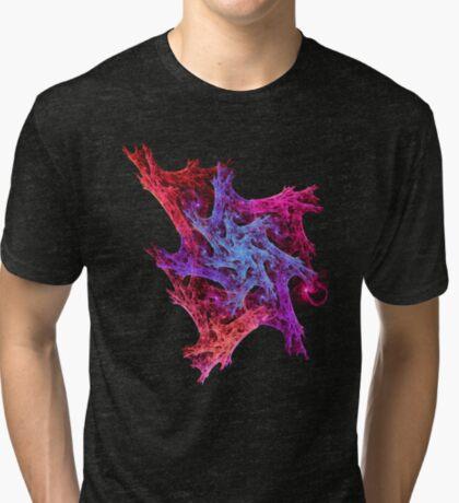 Heart chaos #fractal art Tri-blend T-Shirt