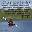 #SciComm100: Sarah Boon by ScienceBorealis