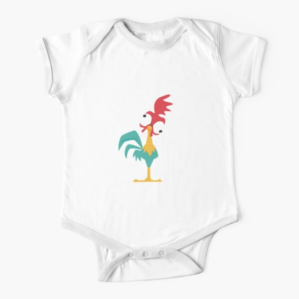 Hei Hei The Rooster Short Sleeve Baby One-Piece