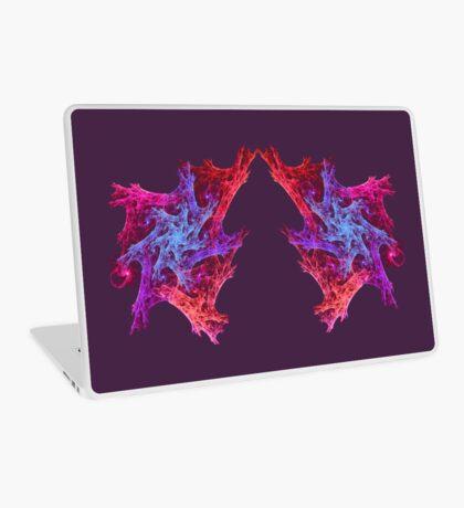 Heart chaos #fractal art Laptop Skin