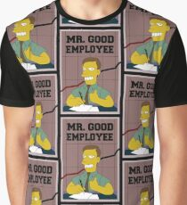 Mister Good Employee Graphic T-Shirt