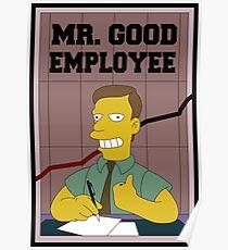 Mister Good Employee Poster