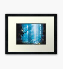 Masked Thief  Framed Print
