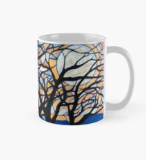 Stained Glass Trees Mug