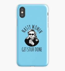 Hillary Clinton Nasty Women Get Stuff Done iPhone Case/Skin