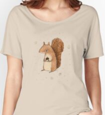 Sarah the Squirrel Women's Relaxed Fit T-Shirt