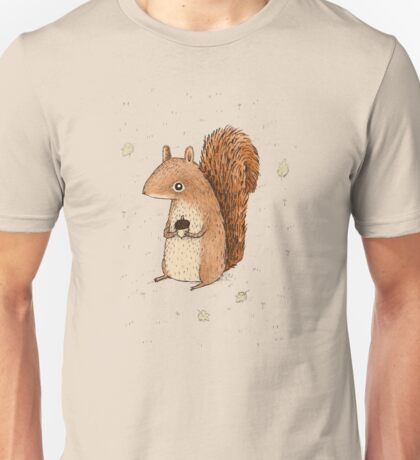 Sarah the Squirrel Unisex T-Shirt