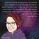 #SciComm100: Tanya Harrison by ScienceBorealis